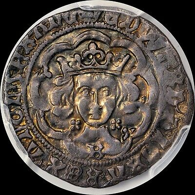 "Finest ""edward The Victorious"" King Edward Iv Groat 4P  Pcgs Xf40, Toned, 0@ Ngc"
