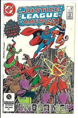 Justice League Of America # 223 (Feb 1984), Nm