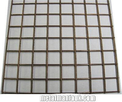 "Mesh welded 1""x1""x12g  536mm wide x 840mm new weld mesh self colour"