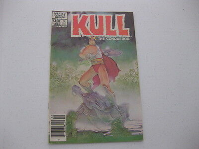 Marvel Comics Group Kull The Conqueror December 1983 Vol 3 No 3
