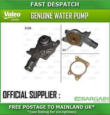 506008 1924 Valeo Water Pump For Ford Escort 1.3 1991-1992