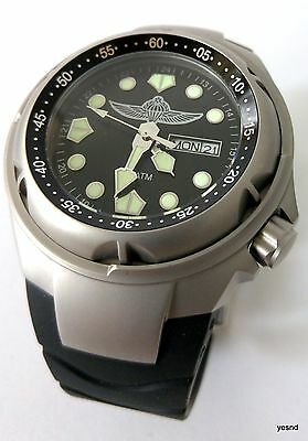 Israel  IDF army paratrooper diving watch combat water resistant date men gift