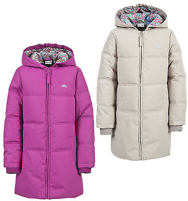 Trespass Snowhite Girls Padded Coat Quilted Jacket
