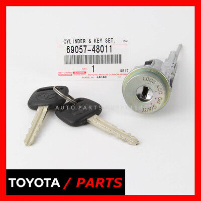 New Toyota Factory Ignition Cylinder And Keys Camry Solara  69057-48011