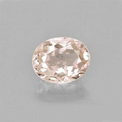 *USA SELLER* Natural, Earth-Mined, 1.2-ct Pink Morganite Oval 8 x 6 mm
