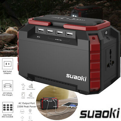 Suaoki 57.72Wh Car Jump Starter Power Bank Battery Charger 150 PSI Compressor