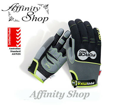 1 Pair Force360 Vibe Work Gloves Anti Vibration MX4 Glove AS/NZS Standards NEW
