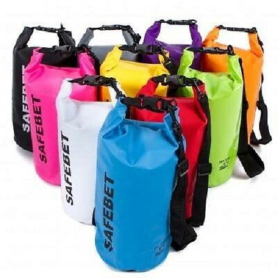 Safebet Colorful Waterproof Shoulder Dry Bag Multipurpose Camp Outdoor Pouch