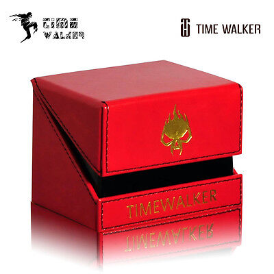 Porta Mazzo Deck Box TimeWalker Spider Red Larger Standard 100 cards