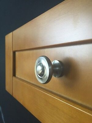 Satin Nickel Decorative Drawer Pull Knobs