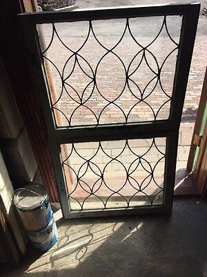 Sg 662 Available Price Separate Antique Leaded Glass Window