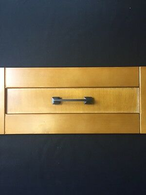 Oil Rubbed Bronze Recessed Drawer Pull Handles