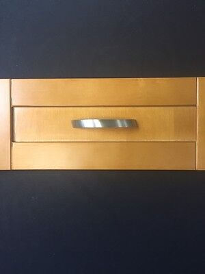 Satin Nickel Modern Drawer Pull Handles