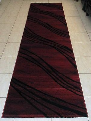 New Modern High Quality Heatset Floor Hallway Runner Rug 80X300Cm