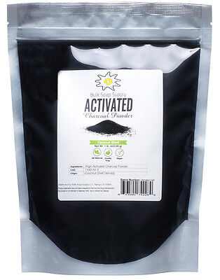 100% Pure Food Grade Activated Charcoal Powder 1 pound