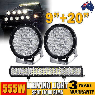 "2X 5""INCH 60W CREE LED Light Spot/Combo Beam Offroad ATV SUV FORD RPLACE HID 9"""