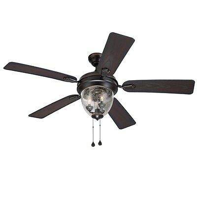 Harbor Breeze 40750 Ellesmere 52-in Ceiling Fan
