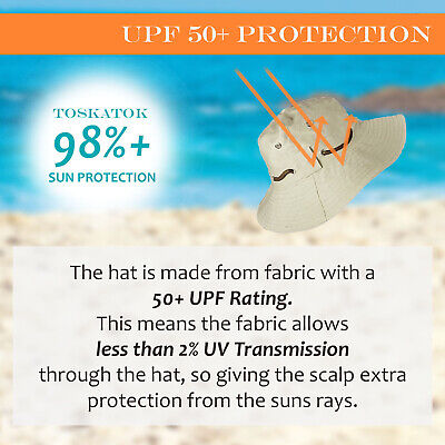 Upf 50+ Protection Mens Ladies Stylish Aussie Outback Travel Holiday Safari Hat