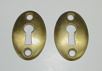 Brass Skeleton Keyhole Escutcheon Cover Plates