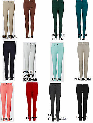 Ex M&s 9333 Ladies  5 Pocket Denim Jegging New Colours Sizes 6 To 32