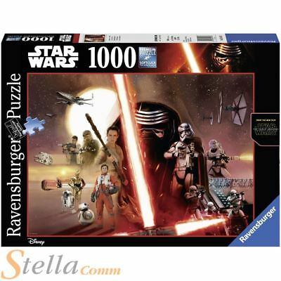Ravensburger Star Wars Force Awakens Episode 7 1000 Piece Jigsaw Puzzle