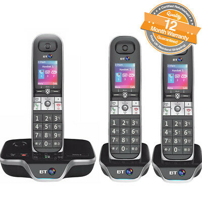 BT 8600 Trio Digital Cordless Answerphone With Advanced Call Blocker