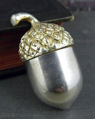 Tiffany & Co. Sterling Silver Acorn Pill Box
