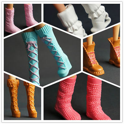 2016 GORGEOUS Handmade The original 4 pairs shoes&boots for barbies doll c456