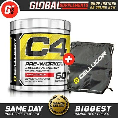 CELLUCOR C4 GEN4 EXTREME PRE WORKOUT 30 or 60 SERVES AVAILABLE!