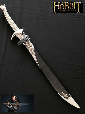 Thorin Oakenshield Warrior Sword with scabbard Stainless steel Blade -The Hobbit