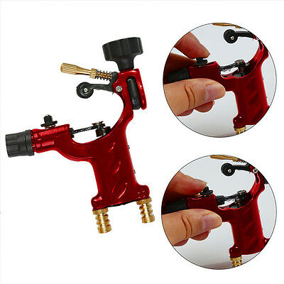 New Pro Aluminum Rotary Tattoo Machine Strong Motor dragonfly style