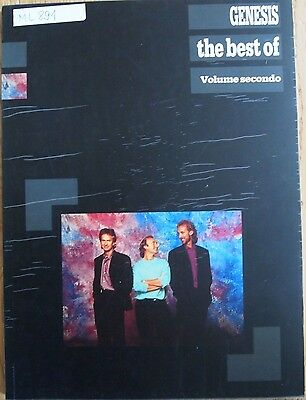GENESIS The best of Band 2 - Songbook piano/vocal/guitar