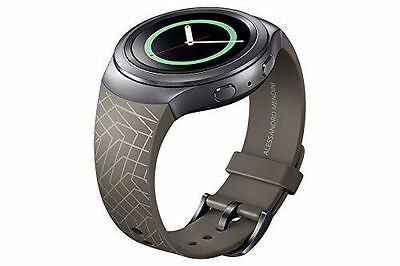 Genuine Samsung Srr72 Band Strap By Mendini For Gear S2 Smartwatch - Brown