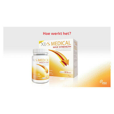 Xls Medical Max Strength 120 Capsule Compresse Integratore Prodotto Italiano