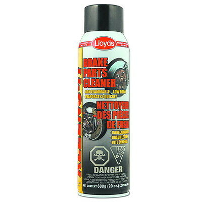 Lloyds Kleens-It Non Flammable Brake Parts Cleaner  600 g (20 oz) aerosol