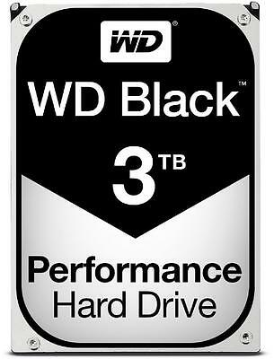 3TB WD Black Performance Desktop Hard Drive 7200 RPM SATA 6Gb/s WD3003FZEX 3 TB