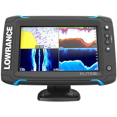 Lowrance Elite-7 Ti Touch Combo w/TotalScan Transducer & Navionics+ Chart