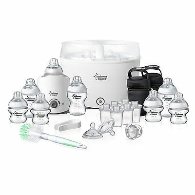 Tommee Tippee Baby Feeding Set Closer to Nature Essentials Starter Kit NewBorn