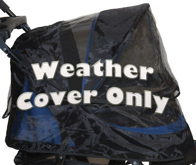 Pet Gear PG8400NZWC Weather Cover For No-Zip Jogger, AT3