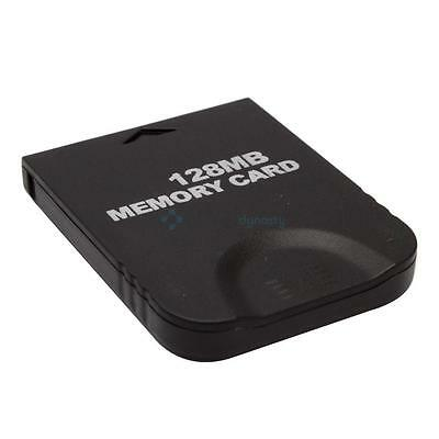 Replacement 128MB 128 MB Memory Card Storage for Nintendo Wii GameCube GC UK