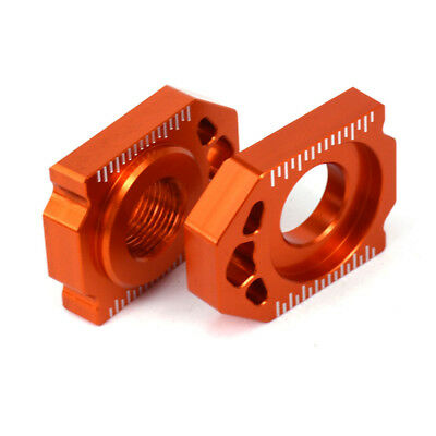 CNC Axle Block Chain Adjuster For KTM 125-450 SX SXF XC XCF 13-16 Husqvarna