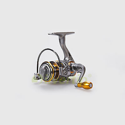 New 12+1 BB 5.2:1 Ultra Thin Light Spinning Fishing Reel Ice Portable DDL DC 150