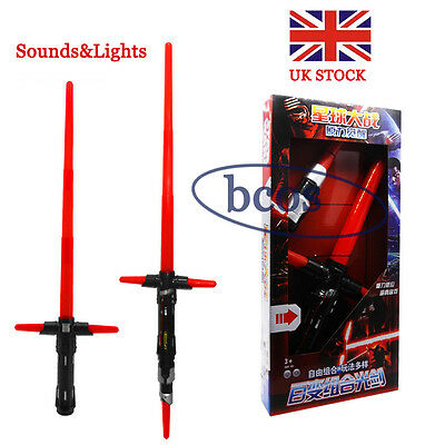 Star Wars The Force Awakens Kylo Ren Extendable Lightsaber With Sounds and Light