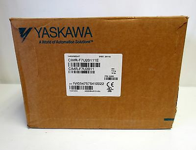 NEW YASKAWA VARISPEED F7 CIMR-F7U2011 AC DRIVE 200-240V 45A 11kW IN ORIGINAL BOX