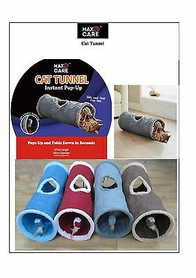 Pop Up Cat/Kitten Play tunnel BY MAXCARE