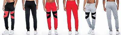 76e02c98c89d Men s TRUE ROCK Red Black Grey Black Black Red biker joggers pants Andre