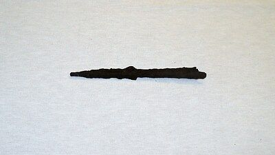 "UNIQUE ANCIENT LATE ROMAN/EARLY BYZANTINE IRON SPEAR POINT 154 mm ~6"" 1-4 C. A.D"