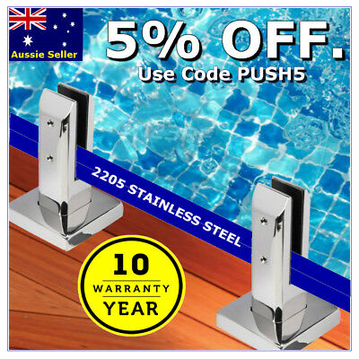 2205 Stainless Steel Spigot Glass Pool Deck Spigots Balustrade Fence Square