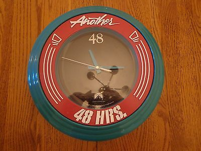 "~Movie Promo Memorabilia Wall Clock~""Another 48 Hours~Paramount Pictures 1990~"