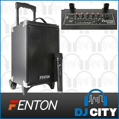 Fenton ST050 Portable PA Speaker with MP3 Player and Bluetooth